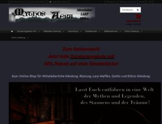 mythos-aera.de screenshot