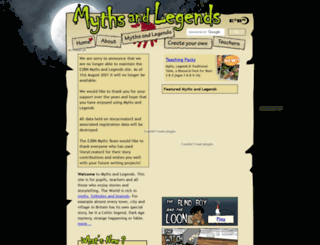 myths.e2bn.org screenshot