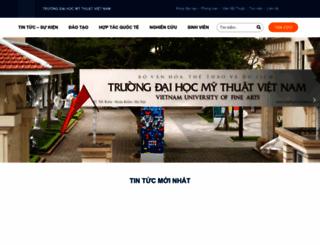 mythuatvietnam.edu.vn screenshot