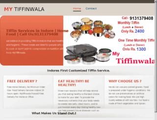 mytiffinwala.com screenshot