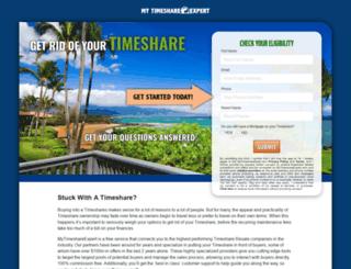 mytimeshareexpert.com screenshot