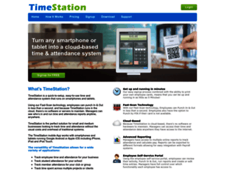 mytimestation.com screenshot