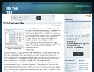 mytop100.com screenshot