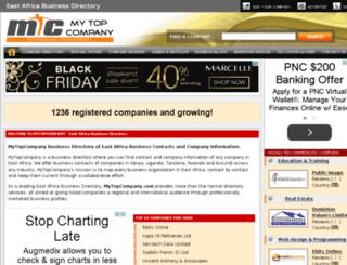 mytopcompany.com screenshot