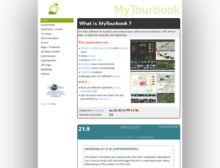 mytourbook.sourceforge.net screenshot