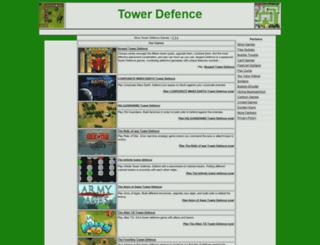 mytowerdefence.com screenshot