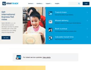 mytracking.iinet.net screenshot