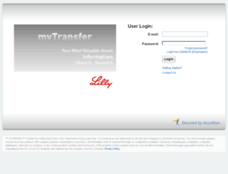 mytransfer.lilly.com screenshot