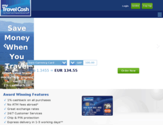 mytravelcash.co.uk screenshot