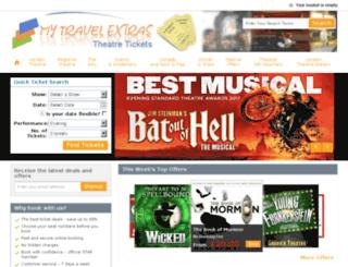 mytravelextras.eolts.co.uk screenshot