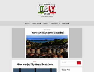 mytravelitaly.com screenshot