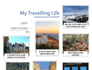mytravellinglife.com screenshot