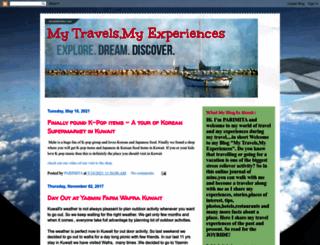 mytravelsmyexperiences.blogspot.com screenshot