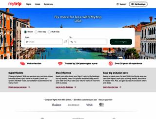 mytrip.com screenshot