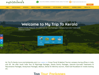 mytriptokerala.com screenshot