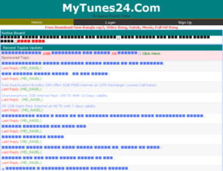 mytunes24.com screenshot