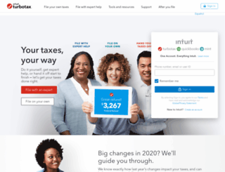 myturbotax.com screenshot