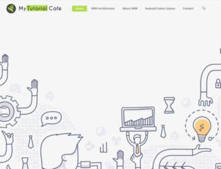 mytutorialcafe.com screenshot