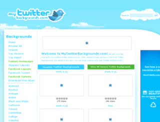 mytwitterbackgrounds.com screenshot