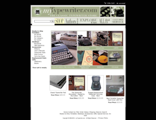 mytypewriter.com screenshot