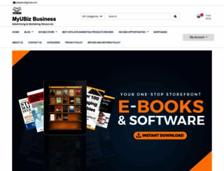 myubiz.com screenshot