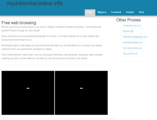 myunblockeronline.info screenshot