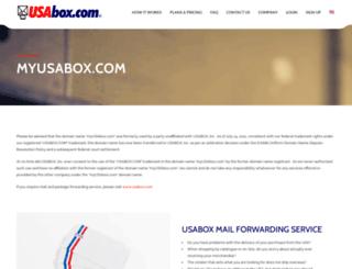 myusabox.com screenshot