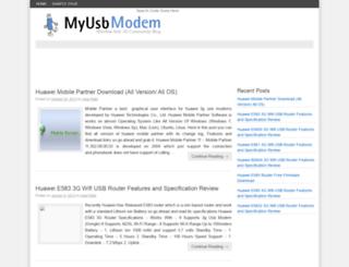 myusbmodem.com screenshot