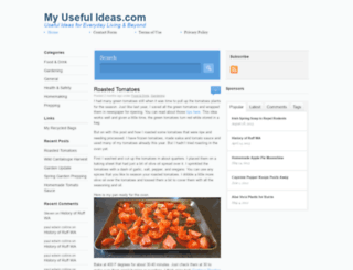 myusefulideas.com screenshot