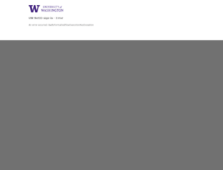 myuw.washington.edu screenshot