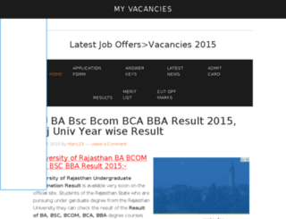 myvacancies.in screenshot