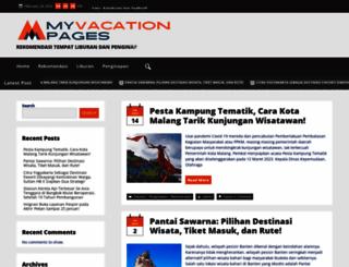 myvacationpages.com screenshot