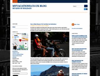 myvacationsblog.wordpress.com screenshot
