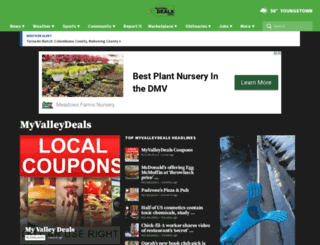 myvalleydeals.com screenshot