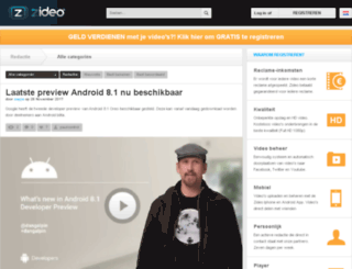 myvideo.zideo.nl screenshot