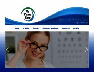 myvisioncarepllc.com screenshot