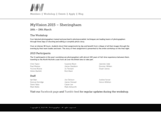 myvisionworkshop.co.uk screenshot