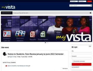 myvista.zou.ac.zw screenshot