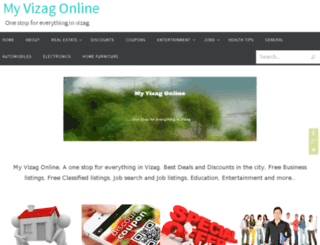 myvizagonline.com screenshot