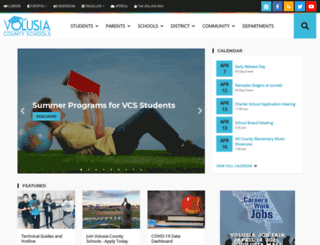 myvolusiaschools.com screenshot