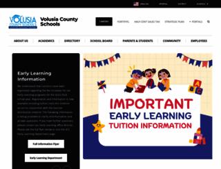 myvolusiaschools.org screenshot