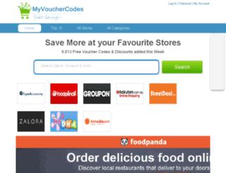 myvouchercodes.my screenshot