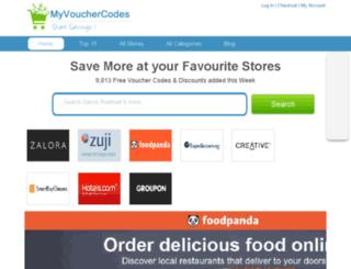 myvouchercodes.sg screenshot