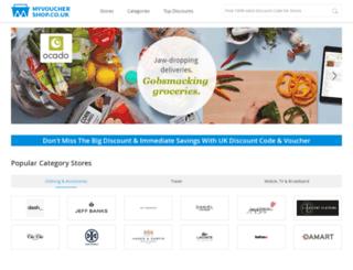 myvouchershop.co.uk screenshot
