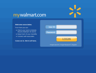 mywalmart.com screenshot
