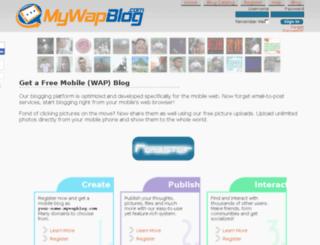 mywapblog.com screenshot
