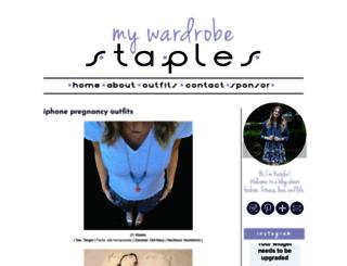 mywardrobestaples.com screenshot