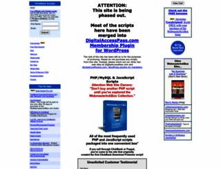 mywebmasterinabox.com screenshot