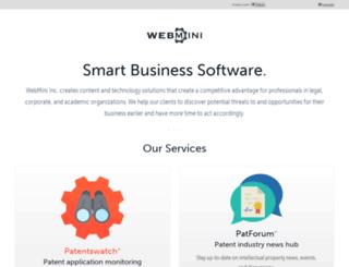 mywebmini.com screenshot