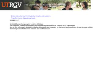 mywebsis.utpa.edu screenshot